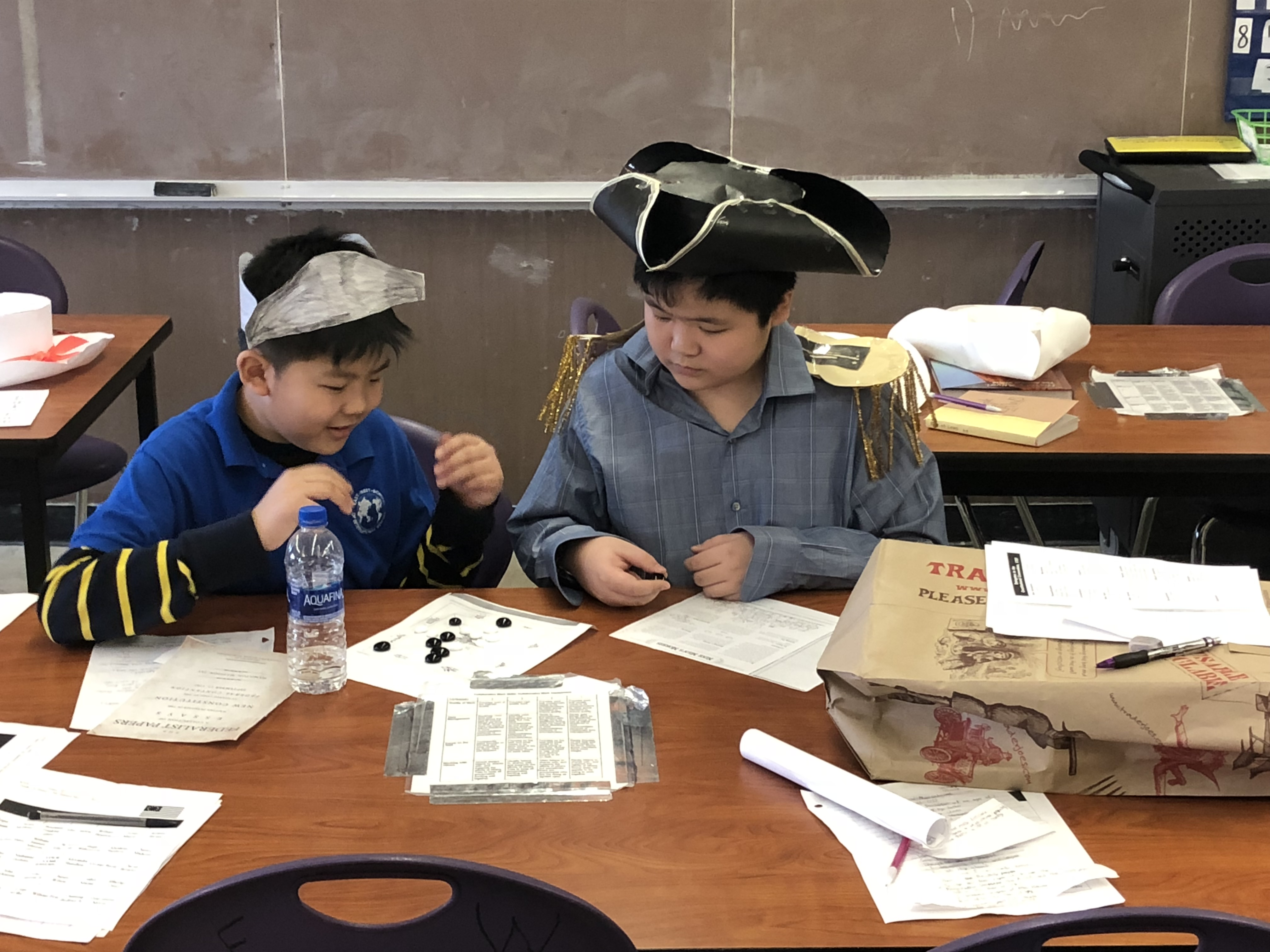American Revolutionary War Tea Party | East-West School of