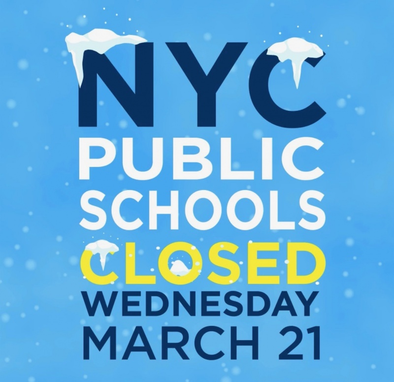 schools should be closed on wednesday With all the snow on the way this winter, check out the new accuweathercom snow days forecast to see if your school has a chance of closing the localized forecast predicts the chance of school.